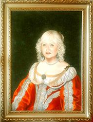 Дама в костюме барокко 17-го века