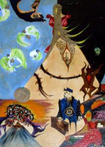 Картины Сильвестра Сталлоне. Без названия