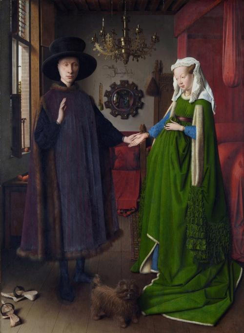 Ян Ван Эйк «Портрет Четы Арнольфини» 1434 г.