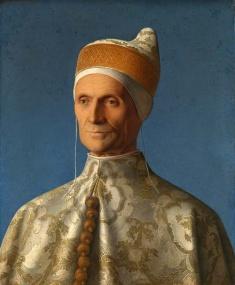 Портрет мужчины, художник Робера Кампена (1430)