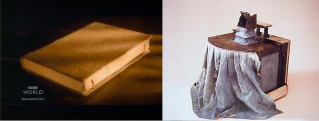 Камера-обскура, замаскированная под книгу