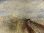 «Дождь, скорость и пар». Джозеф Уильям Мэллорд Тернер.