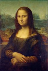 Леонардо да Винчи 'Портрет госпожи Лизы Джокондо'