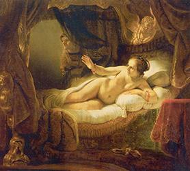 Рембрандт 'Даная'