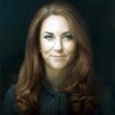 Портрет герцогини Кембриджской Кейт Миддлтон