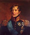 Портрет графа Михаила Андреевича Милорадовича кисти Джорджа Доу