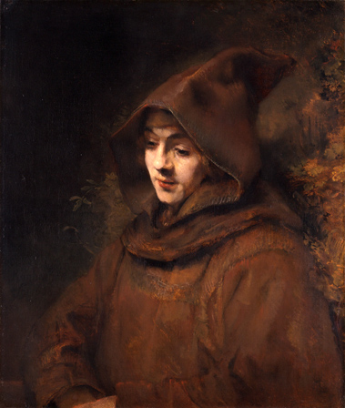 Портрет Титуса в образе монаха
