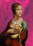 Леонардо да Винчи «Дама с горностаем»
