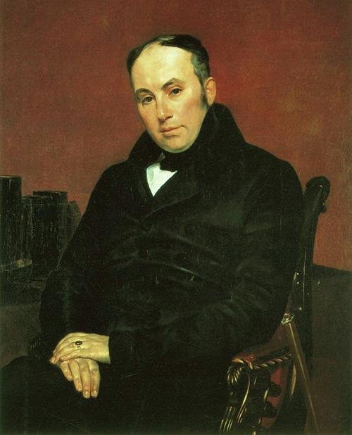 Портрет Василия Андреевича Жуковского кисти Карла Павловича Брюллова
