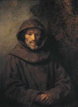 Портрет монаха-францисканца